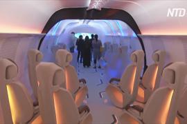На мотор-шоу в Дубае показали салон капсулы вакуумного поезда Hyperloop