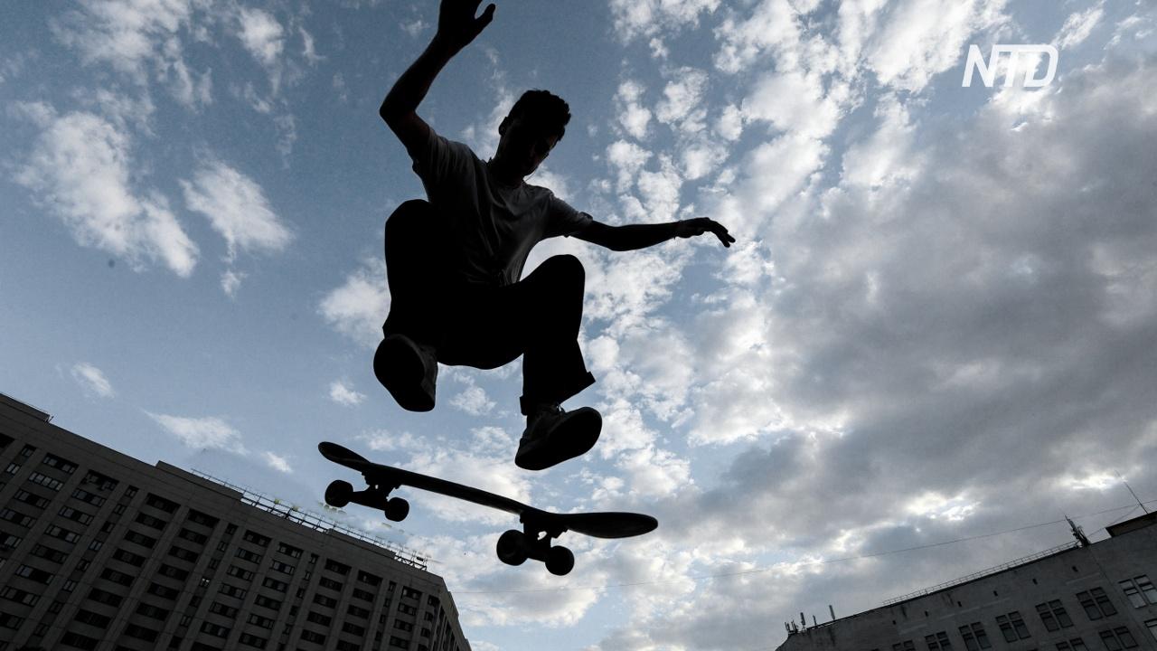Россияне заняли первые места на турнире по скейтбордингу в Москве