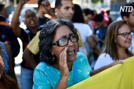 Венесуэльские медики протестуют против нехватки лекарств и нищеты