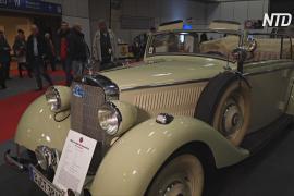 Ретроавто существующих и исчезнувших брендов на выставке Motorworld в Берлине