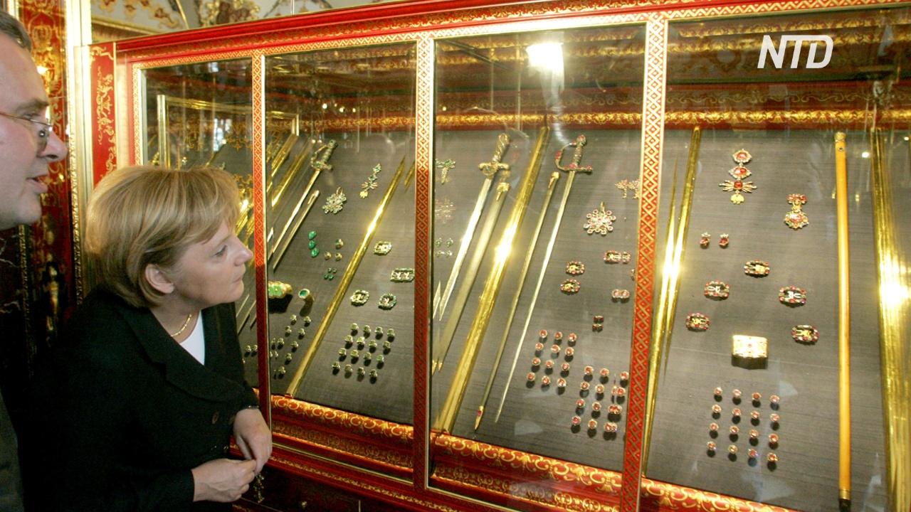 Из сокровищницы Дрездена украли королевские драгоценности