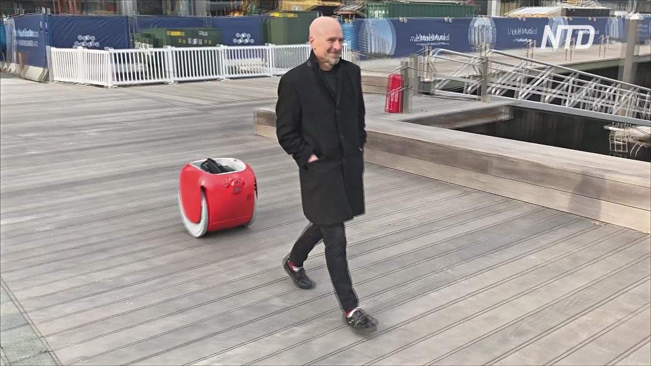 Робот для перевозки багажа впервые поступил в продажу в США