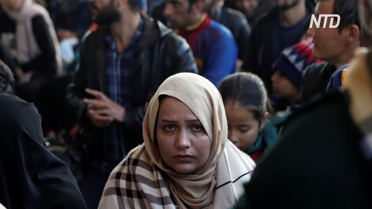 Глава УВКБ ООН назвал ужасными условия жизни беженцев на Лесбосе