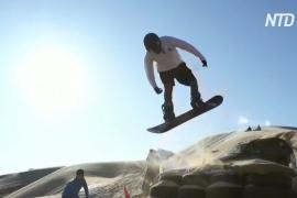 Сноуборд и песчаные дюны: в Мексике посостязались сэндбордисты