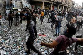 В Ираке силовики за сутки застрелили 45 протестующих