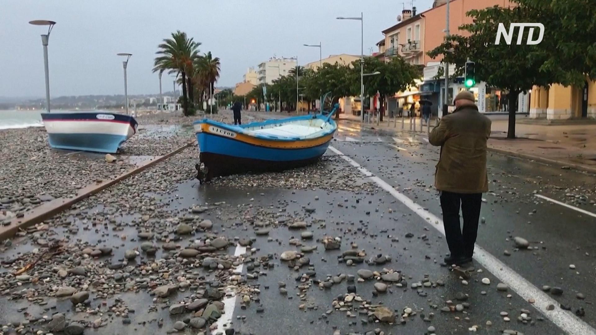 Растёт число жертв наводнений на юге Франции