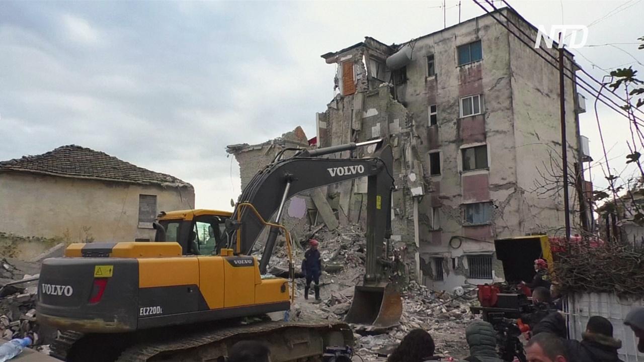 Число жертв землетрясения в Албании достигло 42