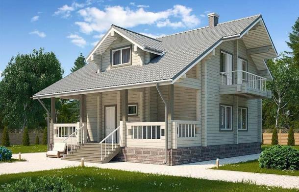 Преимущества использования клееного бруса при строительстве загородных домов