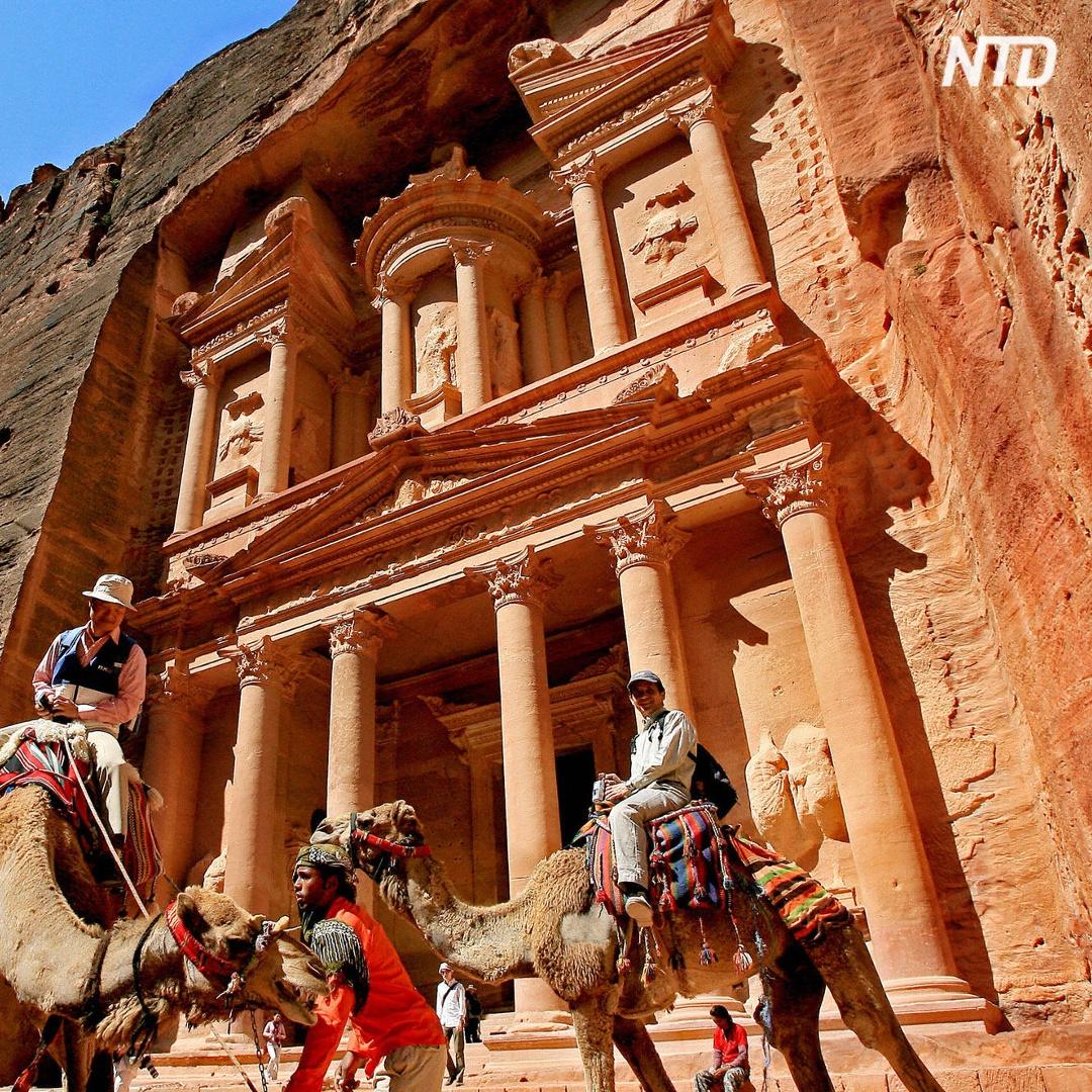 В древнем городе Петра – первый миллионный турист