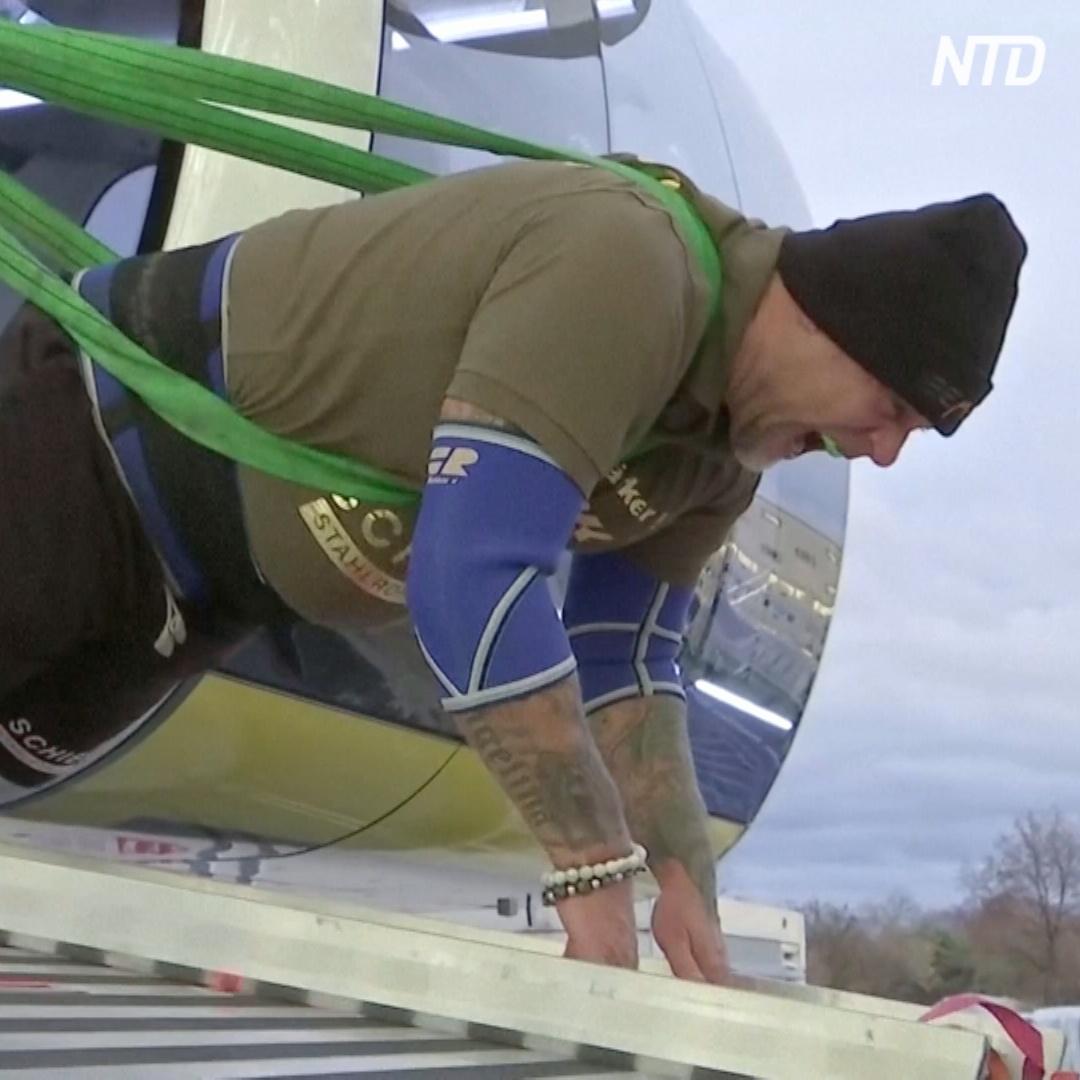 Миссия выполнима: австриец сдвинул с места 1500-тонное колесо обозрения