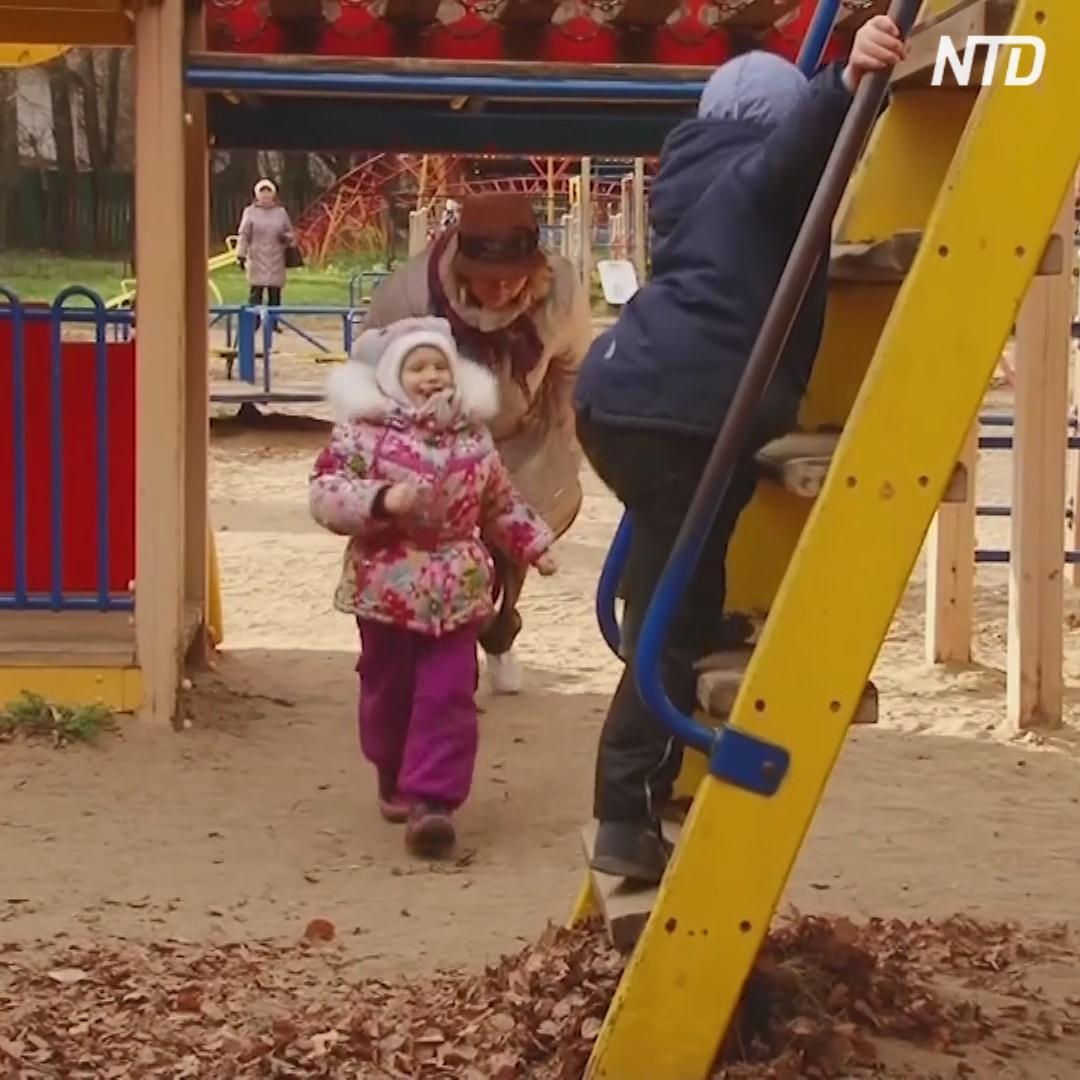Бабушки-волонтёры бесплатно присматривают за детьми во Владимире