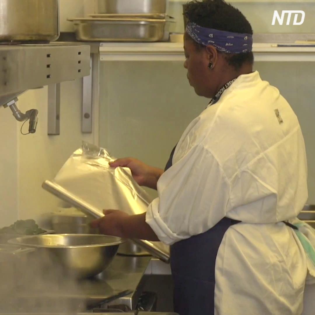 Ресторан в Лондоне отказался от пластика и сэкономил