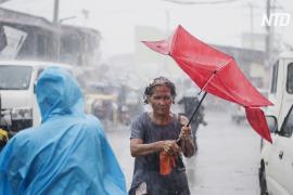Жертвами тайфуна «Тисой» на Филиппинах стали не менее 17 человек