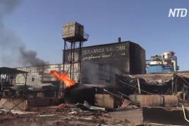 Взрыв и пожар на заводе в Судане: 24 погибших, 130 пострадавших