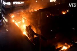 На фабрике в Индии, где погибло 43 человека, снова случился пожар