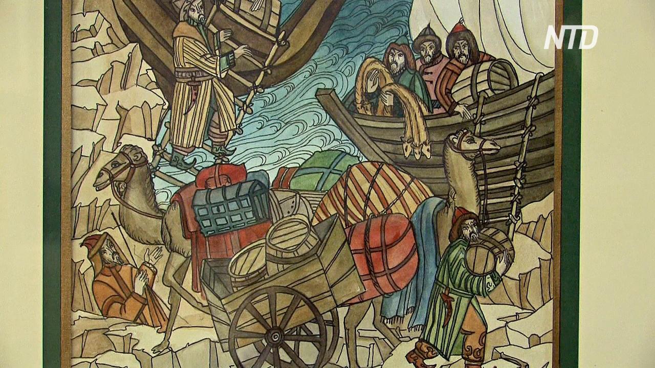 «Тверские жития» в иллюстрациях показали в Петербурге