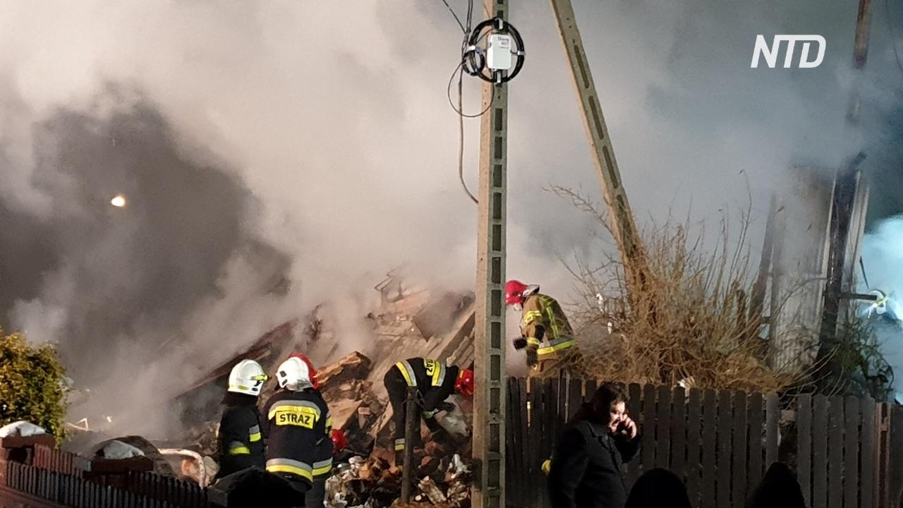 На польском горнолыжном курорте из-за взрыва газа рухнул дом, есть жертвы