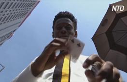 19-летний фокусник из Нигерии – звезда Инстаграма
