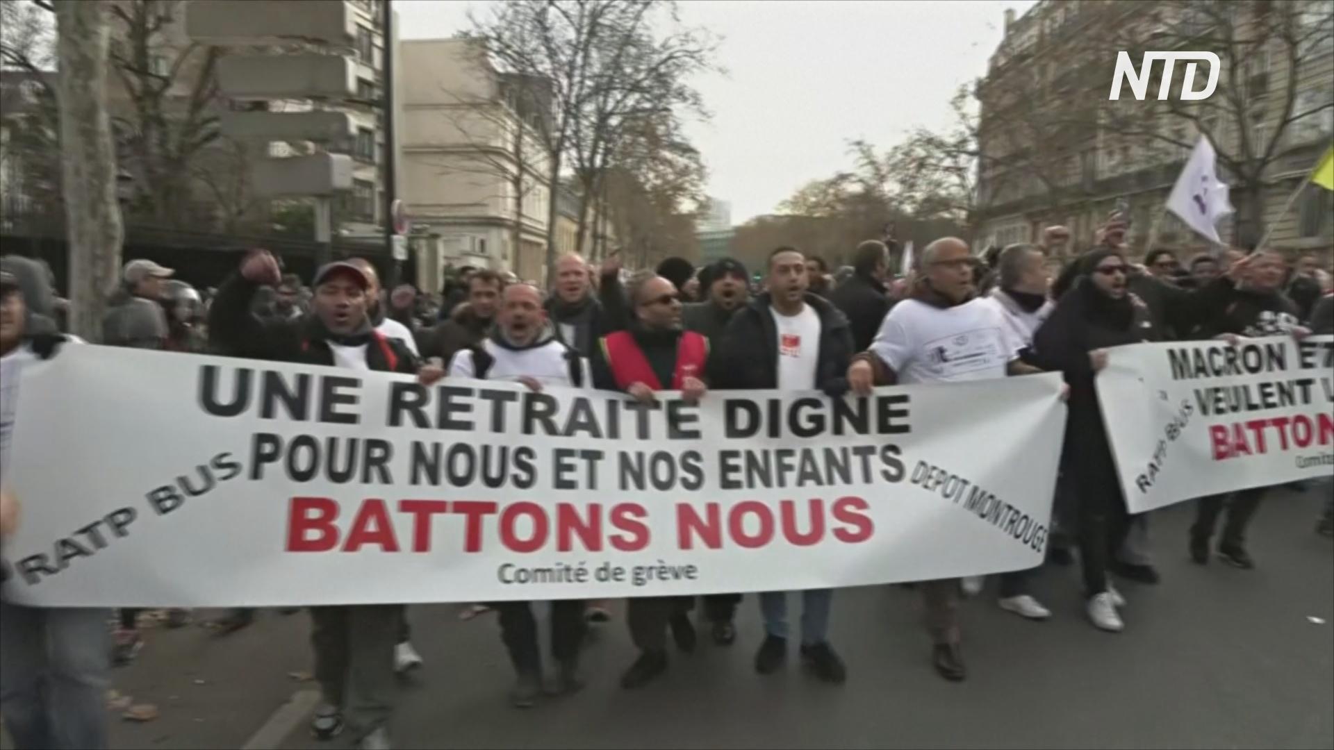 Жители Франции теряют терпение из-за почти недели забастовок