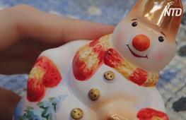 Как нижегородская фабрика создаёт ёлочные игрушки