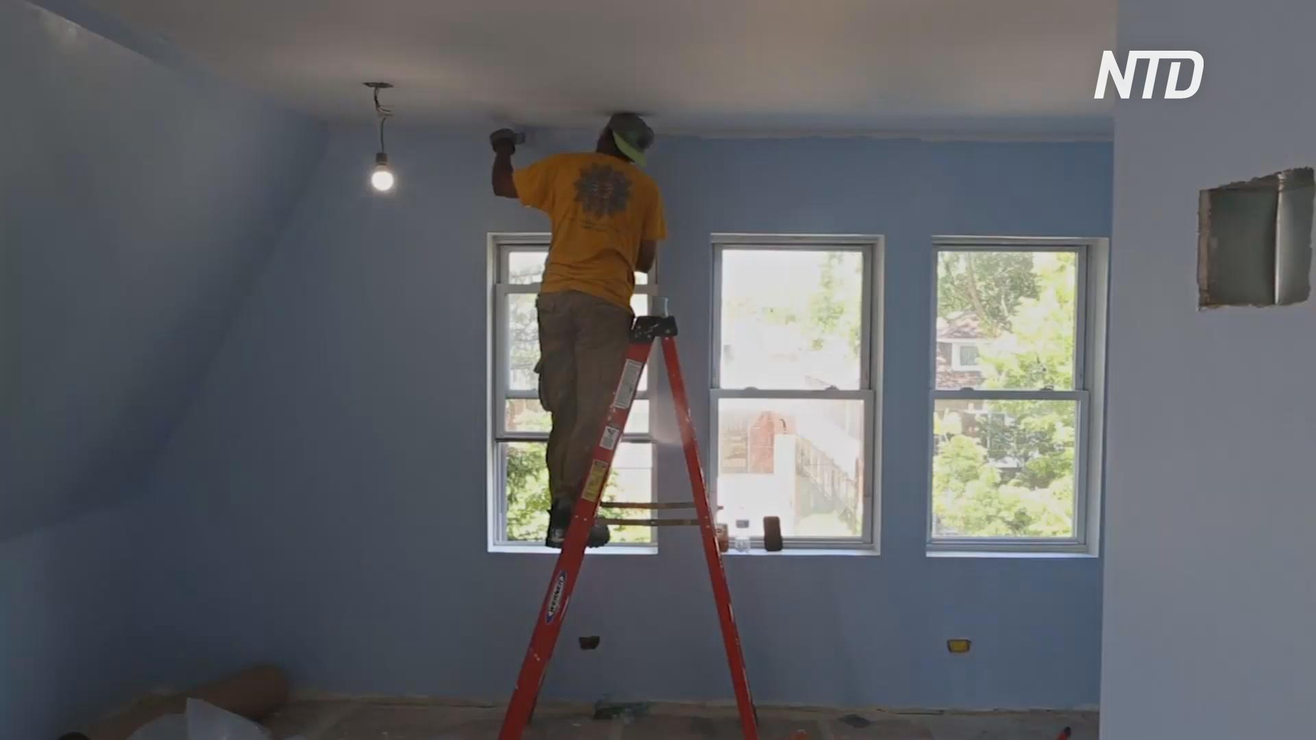 Бывшие заключённые помогают восстановить брошенные дома в Чикаго