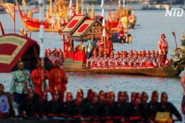 Коронация тайского короля завершилась процессией барж
