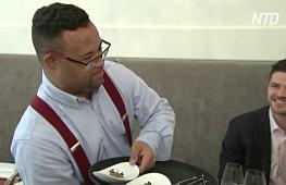 Официанты с синдромом Дауна помогли ресторану в Брюсселе стать лучшим