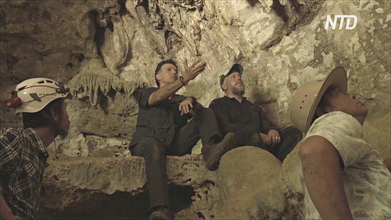 Рисунки в пещерах возрастом 44 тыс. лет пролили свет на верования древних людей