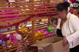 Рождество не кончается: в Тлальпухауа круглый год делают ёлочные шары
