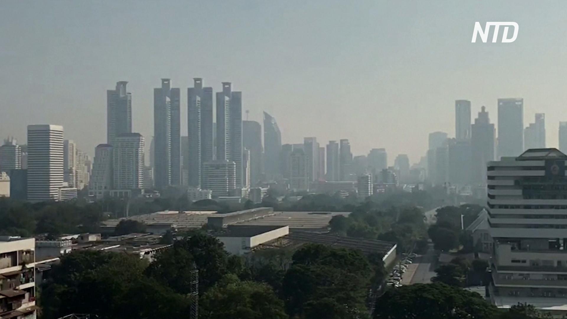 В Бангкок вернулся густой смог