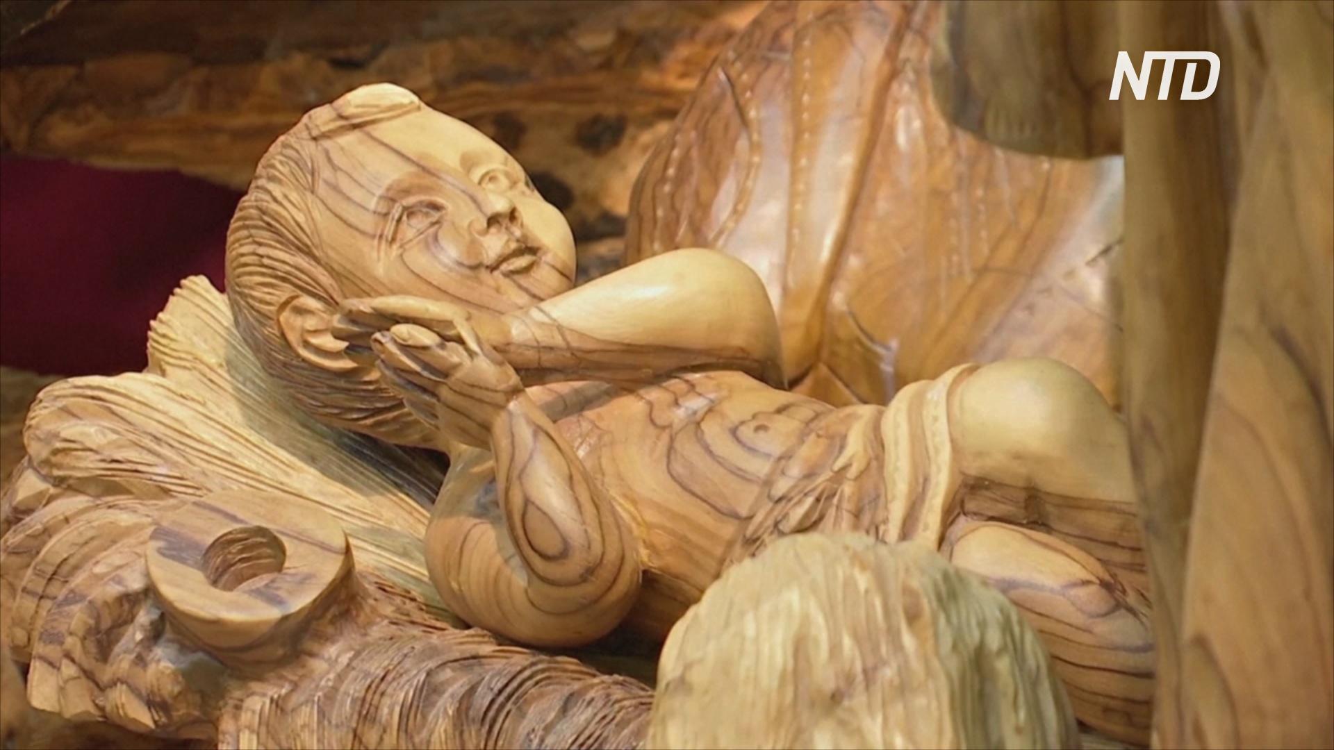 Чем покоряют туристов в Вифлееме рождественские сувениры из оливы