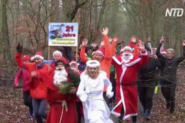 Из-за стола – на пробежку: берлинцы худеют после Рождества