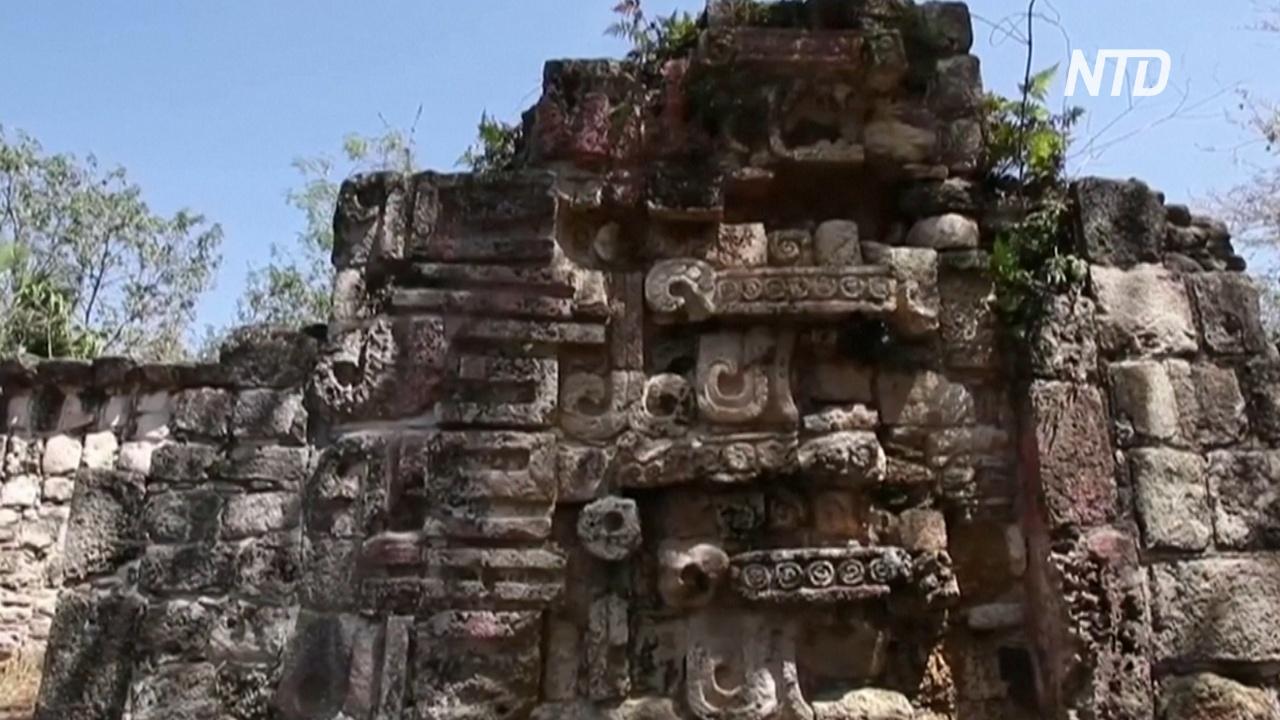 В Мексике нашли дворец майя возрастом более 1000 лет