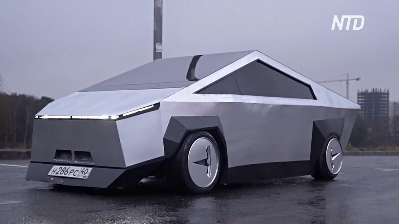 Tesla Cybertruck из «девятки»: на что способны российские автолюбители