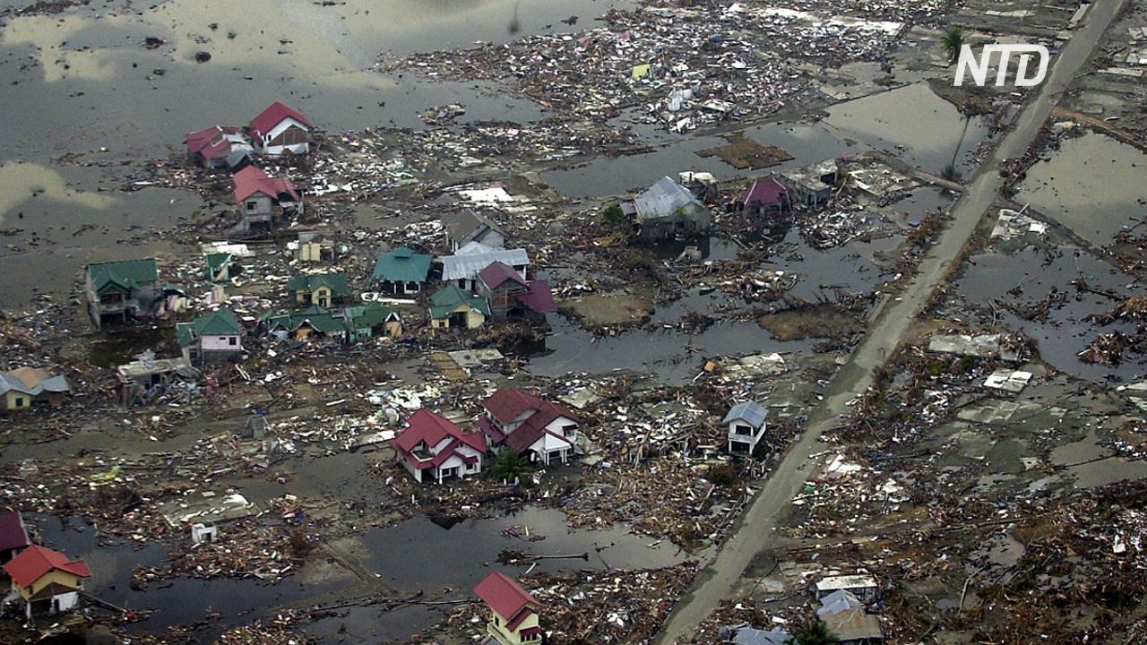 15 лет после цунами в Индийском океане: Таиланд и Индия чтят память жертв