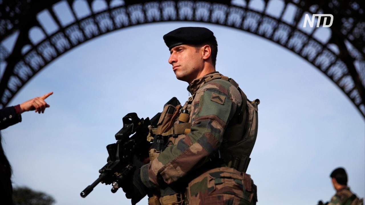 Франция направит 100 тыс. полицейских на охрану порядка в новогоднюю ночь