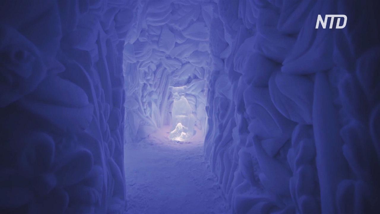 В шведской Лапландии построили шикарный ледяной отель