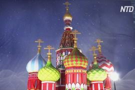 В Индии сделали рождественский торт в виде храма Василия Блаженного