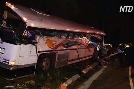 ДТП с автобусом в Гватемале: более 20 погибших