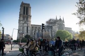 Впервые за 200 лет в Соборе Парижской Богоматери не служат мессу на Рождество