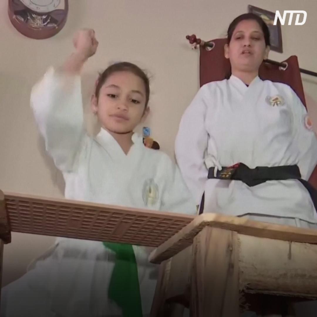 Девочка из Индии в 8 лет установила два мировых рекорда