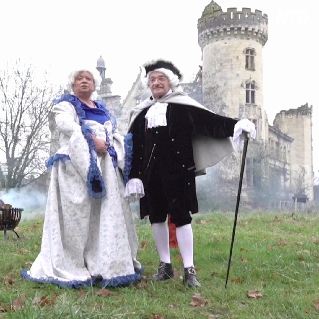 Стать совладельцем старинного французского замка можно за 50 евро