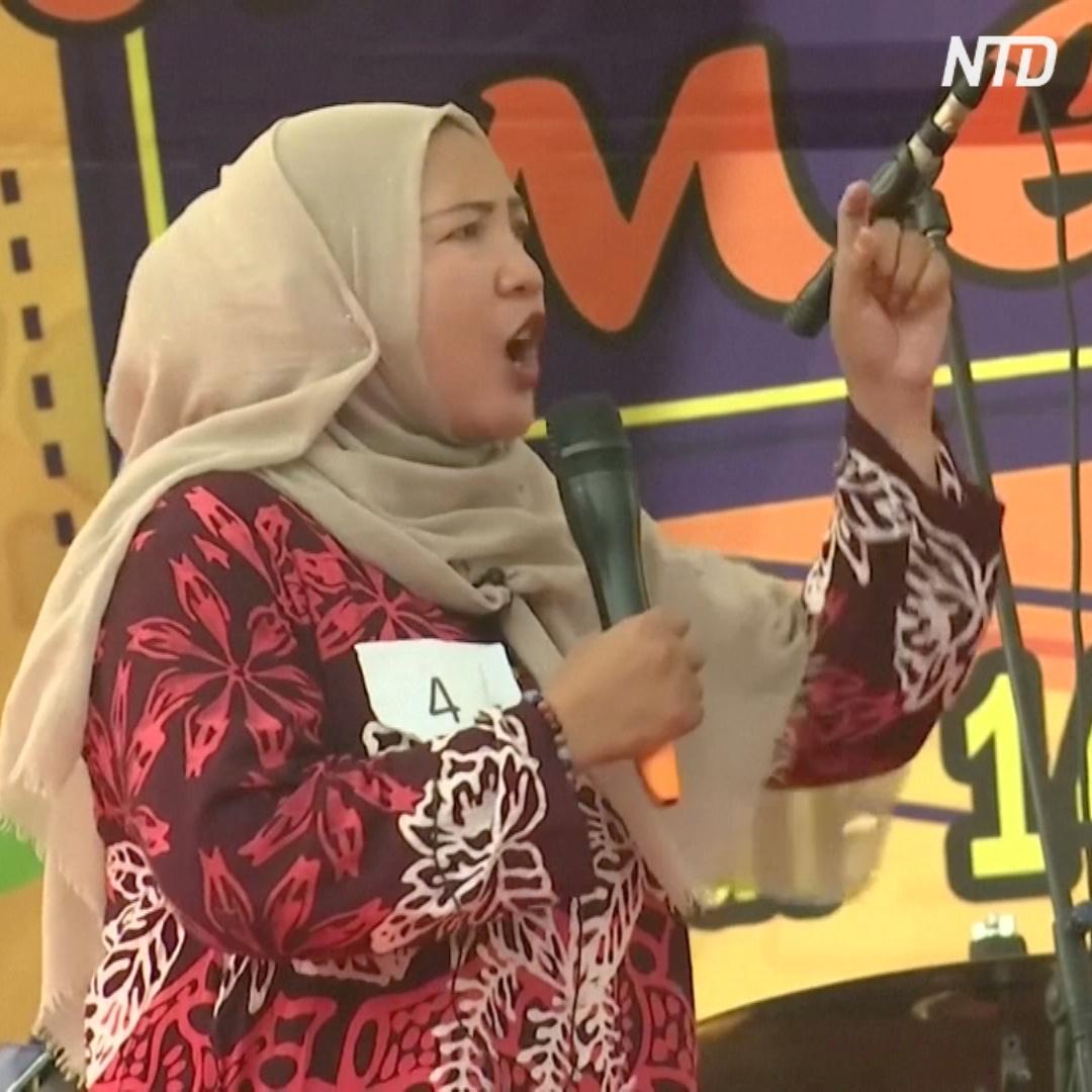 Кричащие домохозяйки: развлечение на улицах Джакарты