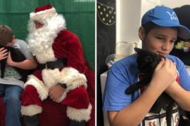 Как подросток отреагировал на рождественский подарок