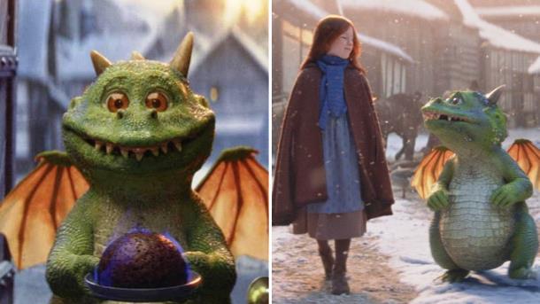 Трогательное видео о девочке и драконе набрало свыше 9 млн просмотров