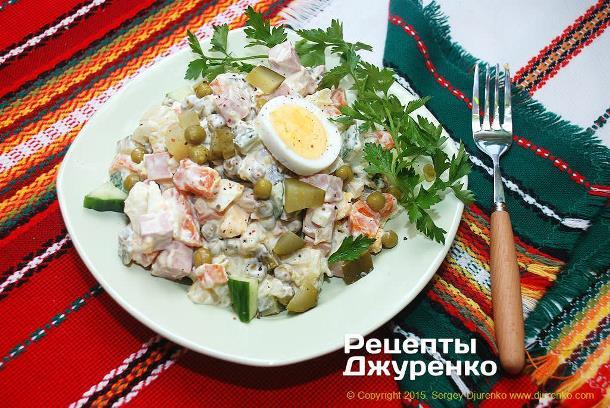 Новогодний стол по рецептам Сергея Джуренко