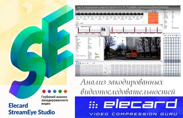 Профессиональные приложения от Elecard