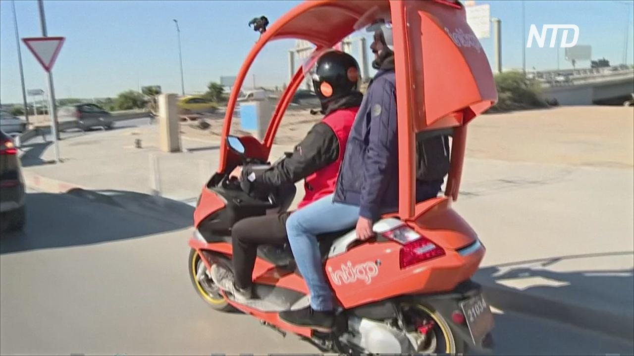 По улицам столицы Туниса начали ездить мопеды-такси