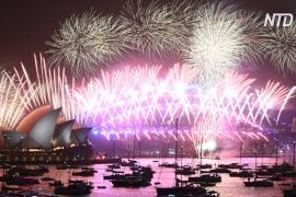 Как встречали 2020 год в крупных городах мира