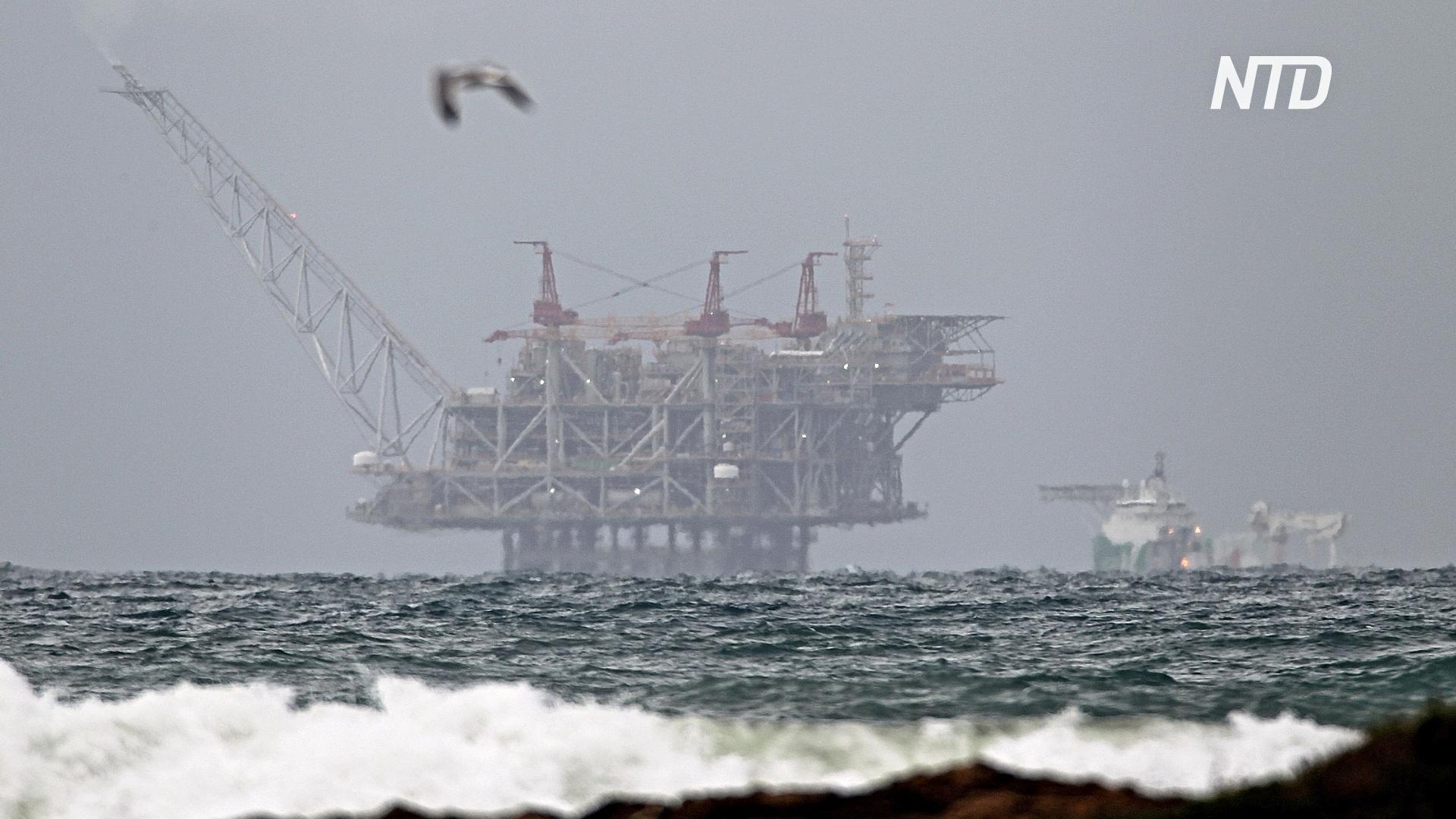 На крупнейшем израильском месторождении «Левиафан» началась добыча газа